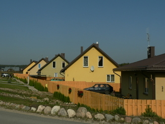 Individualių namų kvartalas Riešėje