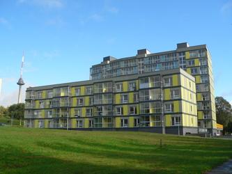 Daugiabučių namų kompleksas Erfurto gatvėje