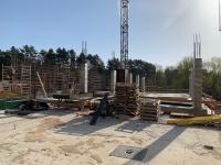 Įrengiamos 1 aukšto monolitinės konstrukcijos