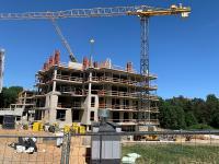 Ruošiama 5 aukšto monolitinė konstrukcija