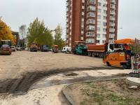 Aikštelės paruošimo asfaltavimui darbai