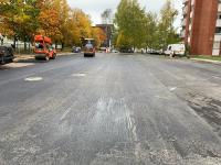 Aikštelės asfaltavimo darbai