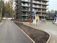 Tiesiamas pėsčiųjų ir dviračių takas