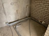 Vandentiekio ir kanalizacijos įrengimo darbai.
